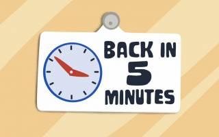 5 Dakikalık Bir Boş Zamanınız mı Var?