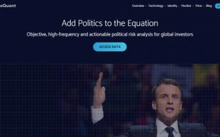Yatırım Dünyasını Etkileyen Küresel Risk Faktörlerini Sizin İçin Ölçen Girişim: GeoQuant