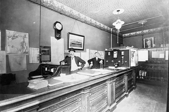 1907 Amerika