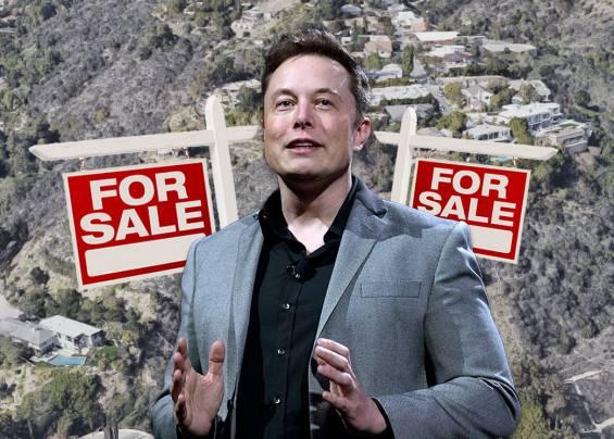 Roket Adam Elon Musk'ın Evi Neden Satılamıyor?