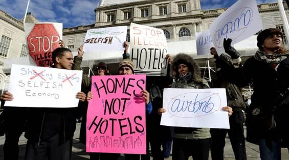 Airbnb'nin Newyork'ta İpi Çekildi