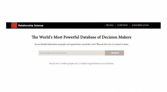 Linkedin'in En Büyük Rakibi Relationship Science Son Kullanıcılara Açıldı