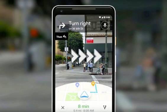 Google Haritalar, Artırılmış Gerçeklik Navigasyonu Özelliğiyle Geliyor