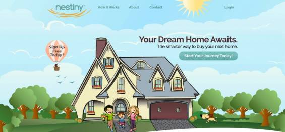 Nestiny: Alıcılar İçin Eğlenceli Ev Satın Alma Sitesi