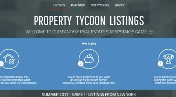 Realtor.com'dan Eğlenceli ve Eğitici Bir Emlak Oyunu: Property Tycoon