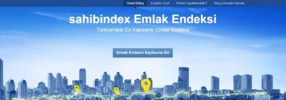 Sahibindex: Bireysel Kullanıcıya Emlak Endeksi