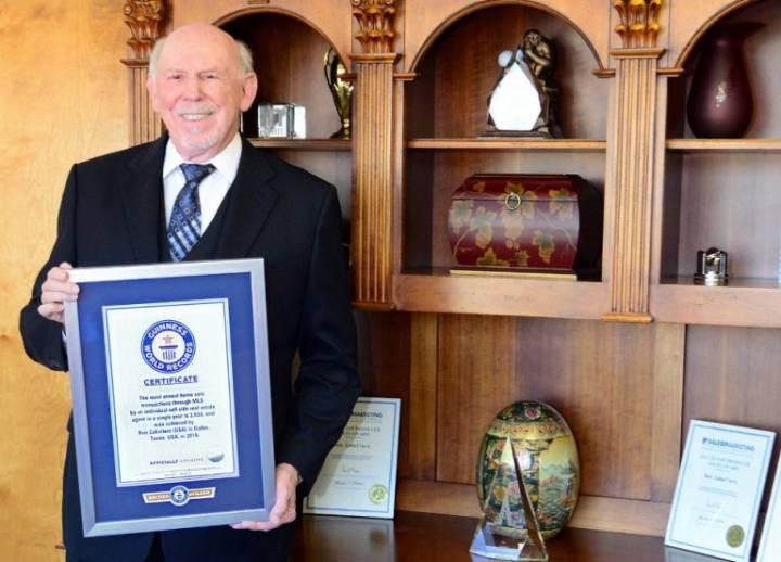 Gayrimenkul Danışmanı Ben Caballero'dan Dünya Rekoru