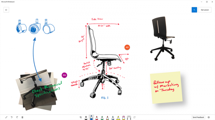 Microsoft Whiteboard: Bilgisayar Ekranınızı Beyaz Tahtaya Çevirin