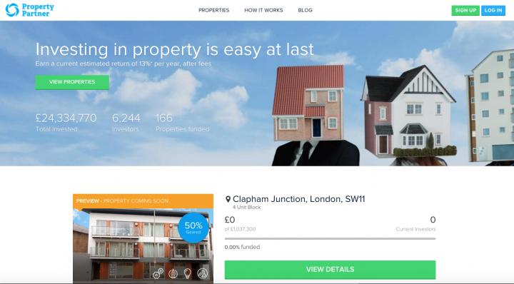 Emlak Borsası Property Partner, Yatırım Miktarını 22,4 Milyon Dolar Artırdı
