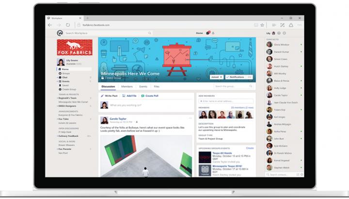 Facebook, Workplace Uygulamasını Kullanıma Sundu
