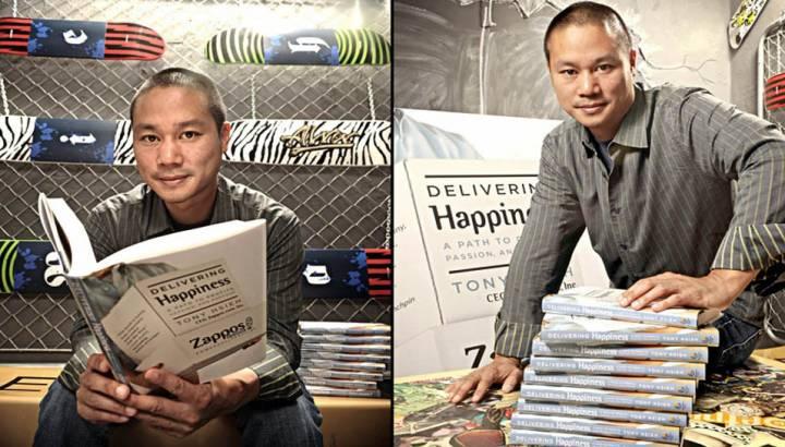 Bir Girişimci Dehasının Kitabından İlham Alın: Mutluluk Dağıtmak