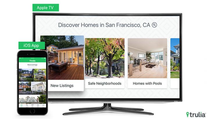 Trulia'nın Emlak Uygulaması, Apple TV'de Sanal Tur Yapmanıza İzin Veriyor