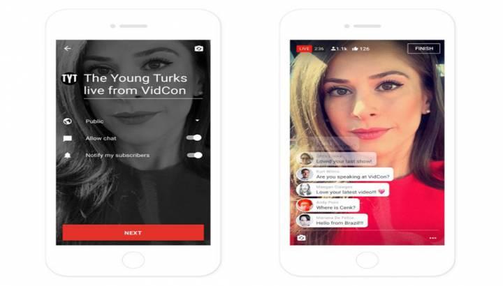 Youtube Mobil Uygulaması İle Canlı Yayında